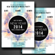 New Year  A4 Flyer Design - GraphicRiver Item for Sale