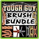 Tough Guy Brush Bundle - GraphicRiver Item for Sale