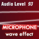 Microphone wave audio level - ActiveDen Item for Sale