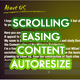Scroll Dynamic Content Autoresize - ActiveDen Item for Sale