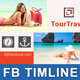 Travel / Tourism Business FB Timeline | Volume 2 - GraphicRiver Item for Sale