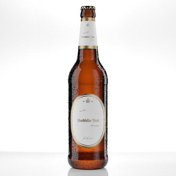 3DOcean Beer Bottle Lighting Studio Setup 668355