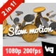 Falling Dollar Coins in Slow Motion on White - VideoHive Item for Sale