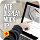 Web Display Laptop Mock-Up - GraphicRiver Item for Sale