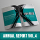 Corporate Annual Report Vol.4 - GraphicRiver Item for Sale
