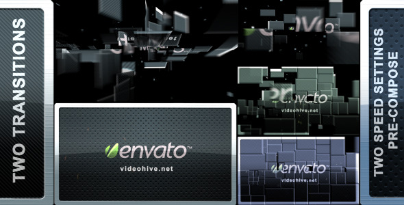 After Effects Project - VideoHive Blocks Transition 2 in 1 577417