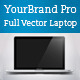 YourBrand Pro Style Vector Laptop - GraphicRiver Item for Sale