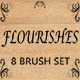 Flourishes - 8 Brush Set for Photoshop - GraphicRiver Item for Sale