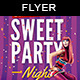 Sweet Night | Party Flyer - GraphicRiver Item for Sale