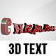 Christmas 3D Text - GraphicRiver Item for Sale