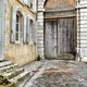 Porte Cochere Carriage Entrance on Old French House - PhotoDune Item for Sale