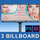 Spa & Beauty Saloon Billboard | Volume 7 - GraphicRiver Item for Sale