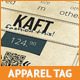 Apparel Tag Photoshop Template - GraphicRiver Item for Sale