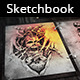 Tattoo Sketchbook Portfolio - VideoHive Item for Sale