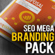 SEO Goal : SEO Agency Business Mega Branding Pack - GraphicRiver Item for Sale