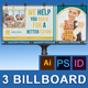 Real Estate Business Billboard | Volume 7 - GraphicRiver Item for Sale
