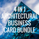 Architectural Business Card Bundle ANB0005 - GraphicRiver Item for Sale