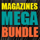 10 Magazines Mega Bundle - GraphicRiver Item for Sale