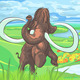 Mammoth in a Landscape with a River - GraphicRiver Item for Sale