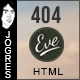 Eve404 - Responsive 404 Theme - ThemeForest Item for Sale
