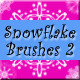 Snowflake Brushes Pkg 2 - GraphicRiver Item for Sale