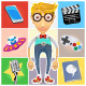 Type of Nerd Geek Dork Guy - GraphicRiver Item for Sale