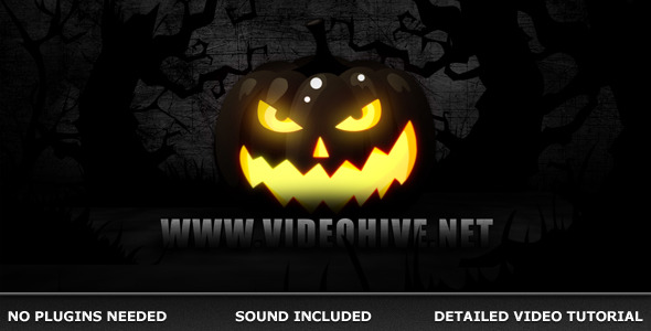 After Effects Project - VideoHive Halloween 673208