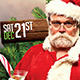 Bad Santa Flyer - GraphicRiver Item for Sale