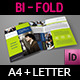 Company Brochure Bi-Fold Template Vol.12 - GraphicRiver Item for Sale
