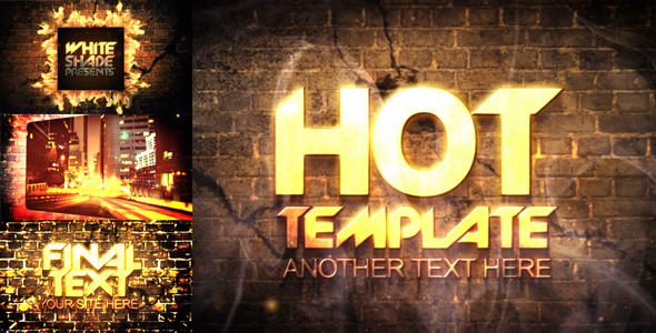 After Effects Project - VideoHive Really hot presentation 673953