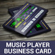 Pocket Music Player Business Card - GraphicRiver Item for Sale