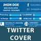 Web Developer / Graphic Designer Twitter Cover - GraphicRiver Item for Sale