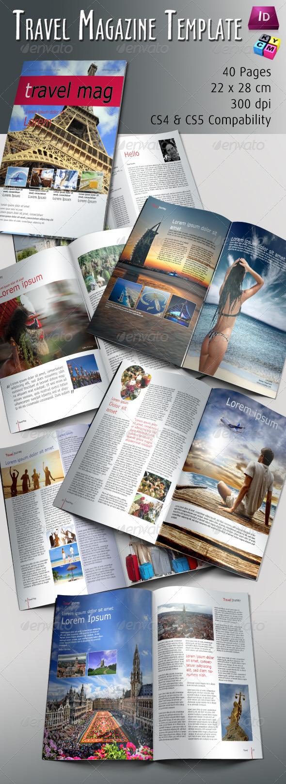 GraphicRiver Travel Magazine Template 674369
