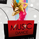 Music Dance / New Year Party Flyer - GraphicRiver Item for Sale