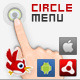 AS3 Circle Menu for Air, android and iOS - CodeCanyon Item for Sale