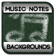 Music Notes Chalkboard Backgrounds - GraphicRiver Item for Sale