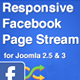 Responsive Facebook Page Stream Module for Joomla - CodeCanyon Item for Sale