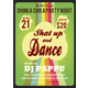 Party Flyers Template (Dhinka Chika Party Night - GraphicRiver Item for Sale