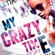 My Crazy Time Party Flyer Template - GraphicRiver Item for Sale