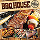 BBQ / Steak Menu Flyer - GraphicRiver Item for Sale