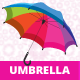 Rainbow Umbrella - GraphicRiver Item for Sale