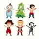 Children in Costumes - GraphicRiver Item for Sale