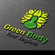 Green Body Logo - GraphicRiver Item for Sale