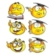 Set of Emoticon Smiles - GraphicRiver Item for Sale
