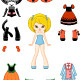 Paper Doll with Clothing - GraphicRiver Item for Sale