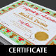 Nursery Potty Trained Certificate Template - GraphicRiver Item for Sale