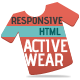 Responsive HTML Theme - ActiveWear - ThemeForest Item for Sale