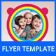 Kids Party Flyer Template - GraphicRiver Item for Sale