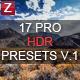 6 HDR Landscape Pro Presets