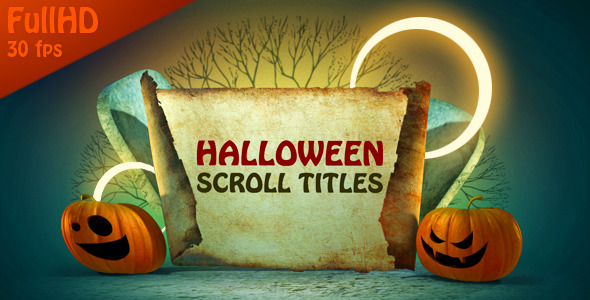 After Effects Project - VideoHive Halloween Title Scrolls 677332
